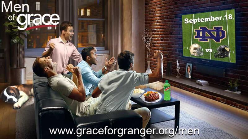 Men of Grace - ND Football Event