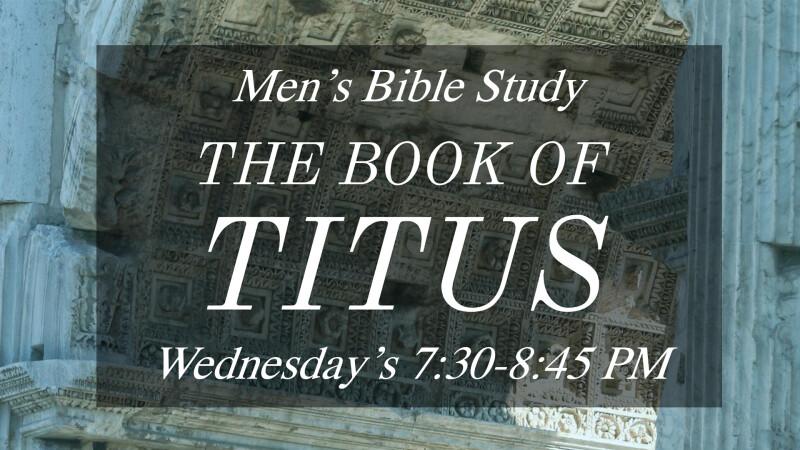 Men of Grace Bible Study
